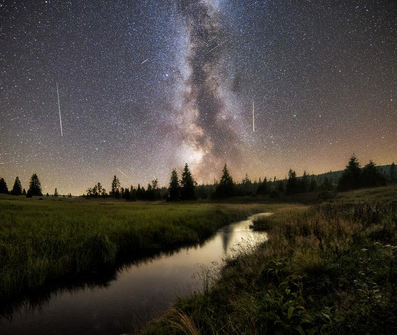 Jak fotit noční oblohu