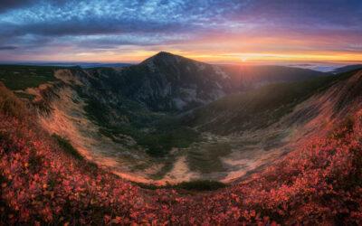 Expoziční bracketing při focení panoramat
